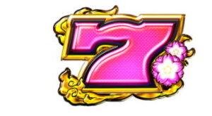 ピンク7シンボル:配当2倍
